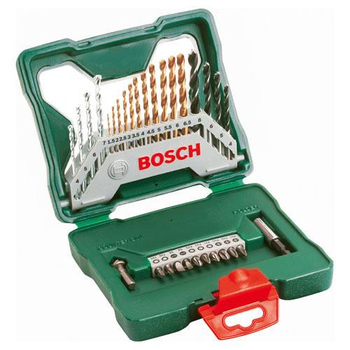 Bosch X Line 30 Piece Drill and Screwdriver Bit Set