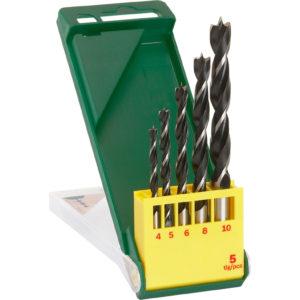Bosch 5 Piece Wood Drill Bit Set