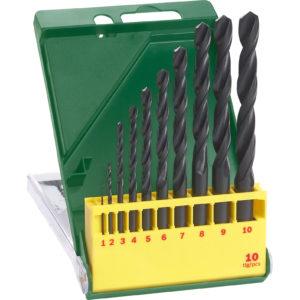 Bosch 10 Piece HSS-R Drill Bit Set