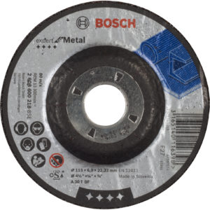 Bosch A30T BF Drepressed Centre Metal Grinding Disc 115mm