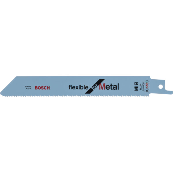 Bosch S922BF Metal Cutting Reciprocating Saw Blades Pack of 100