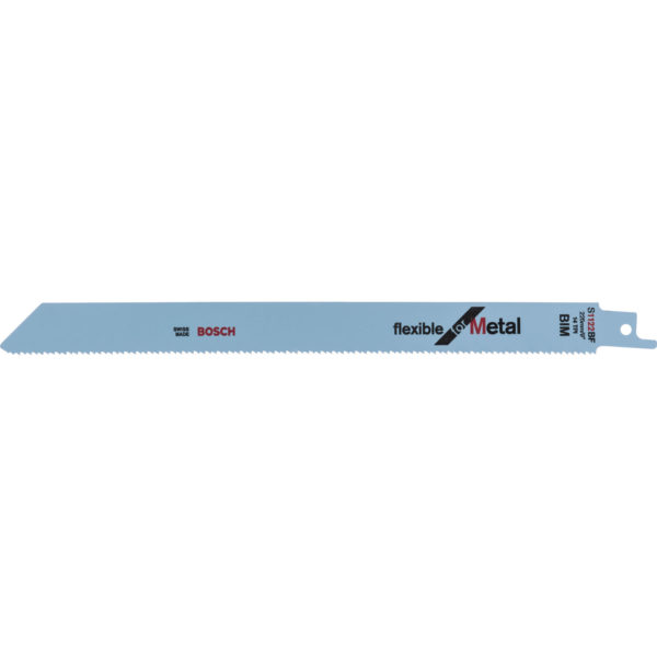 Bosch S1122BF Metal Cutting Reciprocating Saw Blades Pack of 100