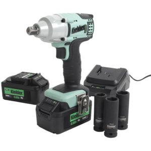 """Kielder Kielder KWT-002 1/2"""" Drive 18V Brushless Impact Wrench with 2 x 4Ah Batteries"""