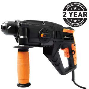 110 Volt Evolution SDS4-800 Four Function SDS Hammer Drill (110V)