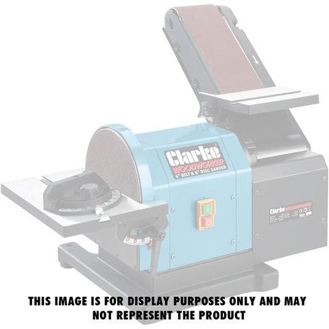 Clarke Pack Of 5 Sanding Discs For Clarke CS48 Belt And Disc Sander (Medium)