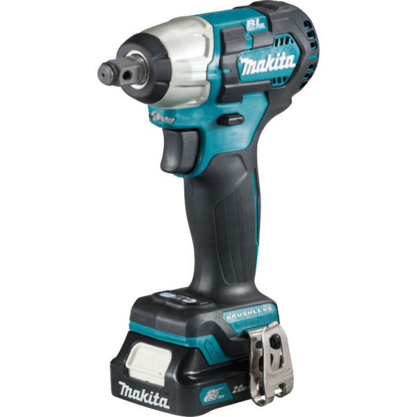"""Makita TW161D 12v CXT Cordless Brushless 1/2"""" Drive Impact Wrench 2 x 2ah Li-ion Charger Case"""