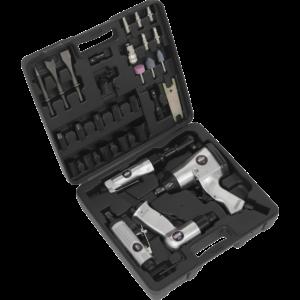 Sealey 4 Piece Air Tool Kit