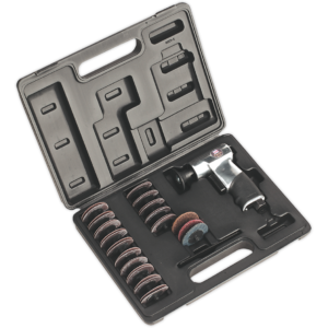 Sealey SA720 35 Piece Mini Air Sander Kit