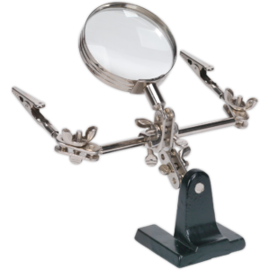 Sealey SD150 Mini Robot Soldering Stand and Magnifier