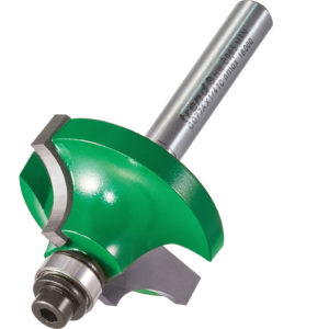 """Trend CRAFTPRO Bearing Guided Shoulder Profile Router Cutter 33.5mm 9mm 1/4"""""""