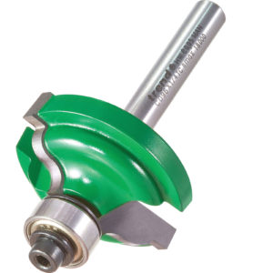 """Trend CRAFTPRO Bearing Guided Ogee Quirk Router Cutter 4mm 13.5mm 1/4"""""""