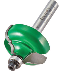 Trend CRAFTPRO Bearing Guided Broken Ogee Quirk Router Cutter 6.3mm 17.5mm 8mm
