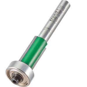 Trend CRAFTPRO Bearing Guided Overlap Trimmer Router Cutter 12.7mm 25.4mm 8mm