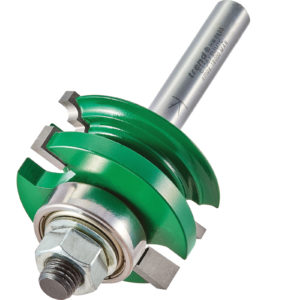Trend CRAFTPRO Bearing Guided Flat Classic Router Cutter 41mm 17mm 8mm