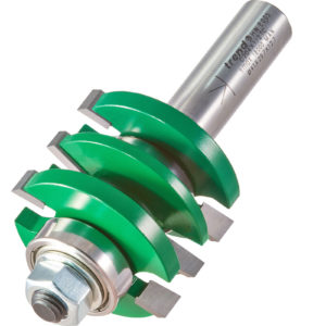 """Trend CRAFTPRO Bearing Guided Easyset Bevel Router Cutter 41mm 17mm 1/2"""""""