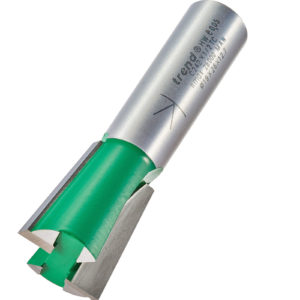 "Trend CRAFTPRO Stair Jig Housing Dovetail Router Cutter 19mm 26mm 1/2"""