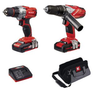 Einhell 4257200 Power X-Change Combi & Drill Driver Twin Pack 18V ...