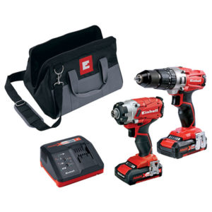 Einhell 4257214 Power X-Change Combi & Impact Driver Twin Pack 18V...