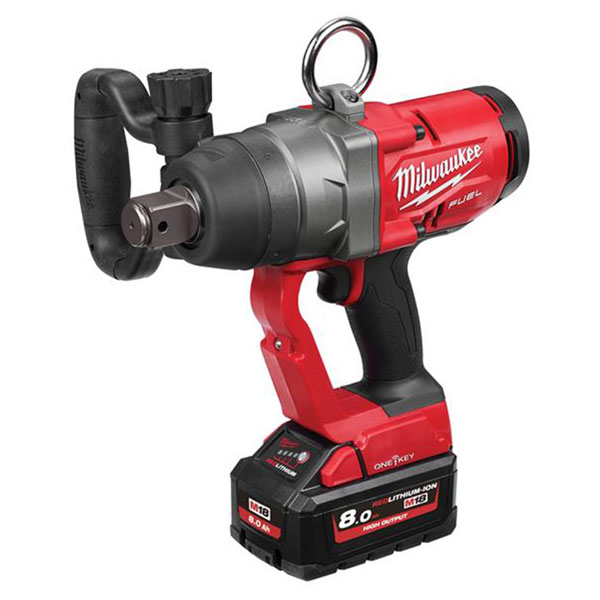 Milwaukee M18 ONEFHIWF1-802X FUEL™ ONE-KEY™ 1in Impact Wrench 18V ...