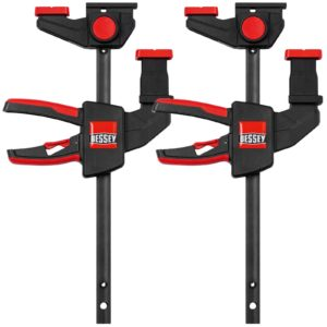Bessey EZR156 2 Piece One Handed Guide Rail Clamp Set