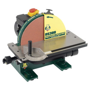 Record Power DS300 Cast Iron Disc Sander 305mm (12in)