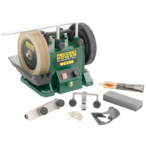 Record Power 33200 WG200 200mm (8in) Wet Stone Grinder 160W 240V
