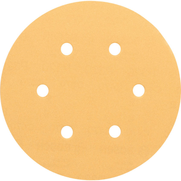 Bosch Red Wood Top Sanding Disc 150mm 150mm 240g Pack of 50