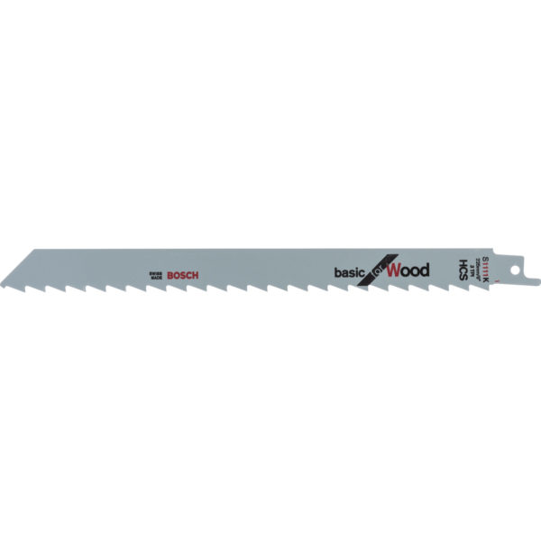 Bosch S1111K Wood Cutting Reciprocating Saw Blades Pack of 5