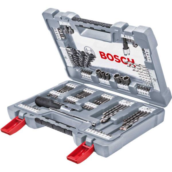 Bosch 105 Piece Premium Power Tool Accessory Drill and Screwdriver Bit Set